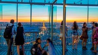 Download Observatoire Panoramique De La Tour Montparnasse - Paris Video