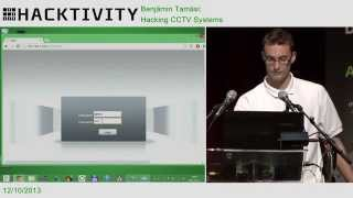 Download Benjamin Tamási - Hacking CCTV systems Video
