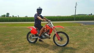 Download Honda Cr 500 Full Throttle!!! Video
