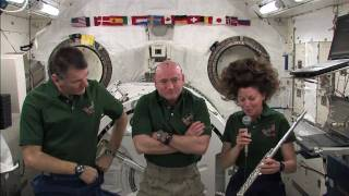 Download A Flute on the Space Station Video