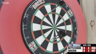 Download Rattlesnake vs Sk8erik -WDA darts Video