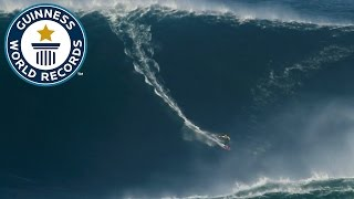 Download Largest wave surfed - Guinness World Records Video