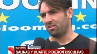 Download Salinas y Duarte piden disculpas por la pelea en Blooming Video