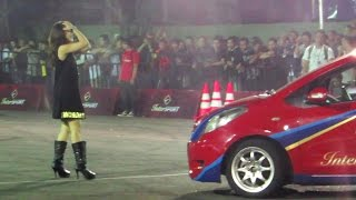 Download Aksi Gymkhana Indonesia, Mobil Drift, Alinka Hardianti, Amandio, Reza ss (InterSPORT Passion Race) Video