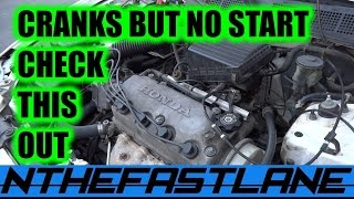 Download Cranks But Won't Start Honda (CPS) ″How To″ Video