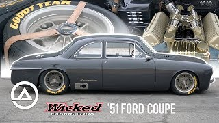 Download The $1.4 Million '51 Ford Coupe by Wicked Fabrication | For Bruce Leven Video