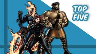 Download Top Five Worst Superhero Teams Video
