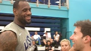 Download USA Basketball Trick Shot (Feat. Lebron, Kobe, Carmelo etc.) Video