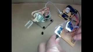 Download Mimic Robot - Robot arm that follows human action Video
