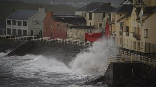 Download Storm Ophelia makes landfall in Ireland Video