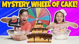 Download MYSTERY WHEEL OF CAKE CHALLENGE!!! Who Can Bake the Best Dessert??? Video