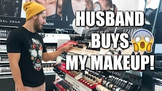 Download MY HUSBAND BUYS MY MAKEUP FOR ME | SEPHORA Video