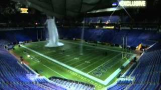 Download Metrodome Roof Collapse Video From Inside Metrodome Video