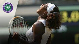 Download Serena Williams v Elena Dementieva: Wimbledon Semi-final, 2009 (Extended Highlights) Video