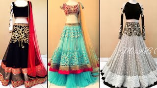 Download Beautiful heavy embroidered lehenga design ideas for Bridesmaid/Lehenga design ideas for engagement Video