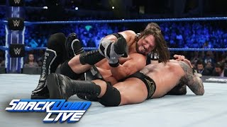 Download Randy Orton vs. AJ Styles - Winner to headline WrestleMania: SmackDown LIVE, March 7, 2017 Video