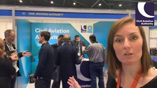 Download UK CAA at 2018 commercial UAS show HD 720p Video