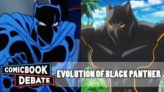 Download Evolution of Black Panther in Cartoons in 5 Minutes (2017) Video