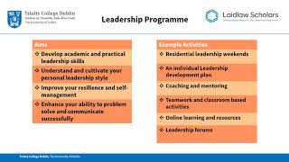 Download Laidlaw Undergraduate Research and Leadership Programme Briefing 2018 Video