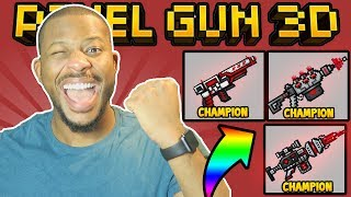 Download OMG! NEW CHAMPION WEAPONS! | Pixel Gun 3D Video