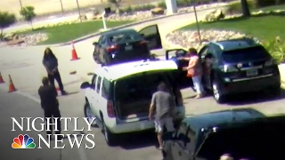 Download Love Field Shooting Caught on Surveillance Camera   NBC Nightly News Video