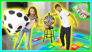 Download GIANT BOARD GAME CHALLENGE - Winner Gets CASH! | We Are The Davises Video