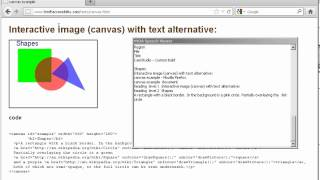 Download NVDA reading canvas sub-DOM content in Firefox 13 Video