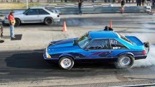Download Turbo Vs Nitrous - Foxbody Mustang Showdown! Video