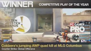 Download Coldzera - Competitive Play of The Year (Golden Joystick Awards 2016) Video