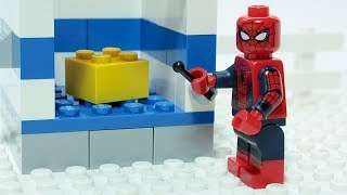Download Lego Spider-man Matching Brick Objects Superheroes Funny Animation Video