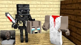Download Monster School : GRANNY TROLLING HORROR GAME - Minecraft Animation Video