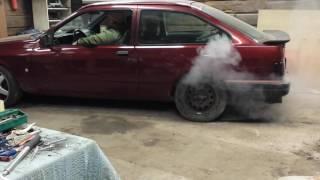 Download Ford Sierra 20V Turbo Garage Burnout Video