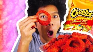 Download DIY HOW TO MAKE HOT CHEETO ONION RINGS!!! Video