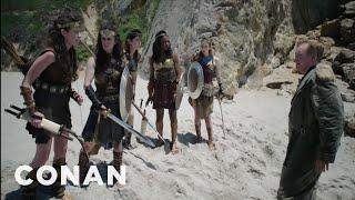 Download Conan's ″Wonder Woman″ Cold Open - CONAN on TBS Video