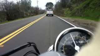 Download Riding Yamaha v-star 250 from Lincoln to Newcastle Video