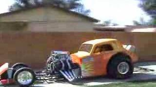 Download burn out in driveway with 1800 hp Video