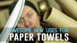 Download 9 Awesome New Uses For Paper Towels Video