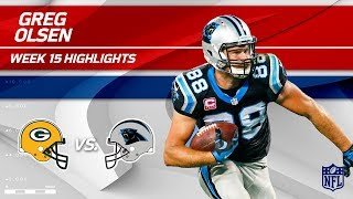 Download Greg Olsen Highlights   Packers vs. Panthers   NFL Wk 15 Player Highlights Video