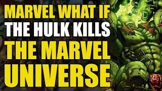 Download The Hulk Kills All The Superheroes and becomes Galactus' New Herald (World War Hulk What If #1) Video