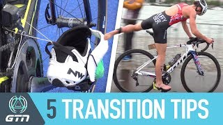Download Transition From The Swim To Bike Faster | Top 5 T1 Tips Video