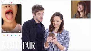 Download Aubrey Plaza and Dan Stevens Hijack a Stranger's Tinder | Vanity Fair Video
