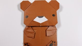 Download How to Origami Animal : Bear Video