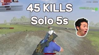 Download H1Z1 - 45 Kills Solo 5s Video