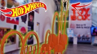 Download WORLD'S BIGGEST HOT WHEELS TRACK! (WTF) Video