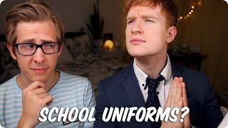 Download School Uniforms! YES OR NO? | British VS American Video