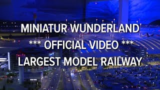 Download Miniatur Wunderland *** official video *** largest model railway / railroad of the world Video