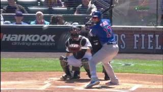 Download Kris Bryant Hit in Head with 96 MPH Pitch Video