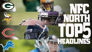 Download NFC North Top 5 Offseason Headlines Heading into the 2017 Season! | NFL NOW Video