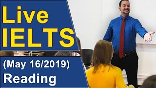 Download IELTS Live - Reading - Practice for Band 9 Video