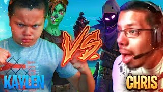 Download 1V1 9 YEAR OLD BROTHER VS PRO PLAYER (CHRIS) FORTNITE PLAYGROUND! *THE UNEXPECTED HAPPENS!!!* OMG Video